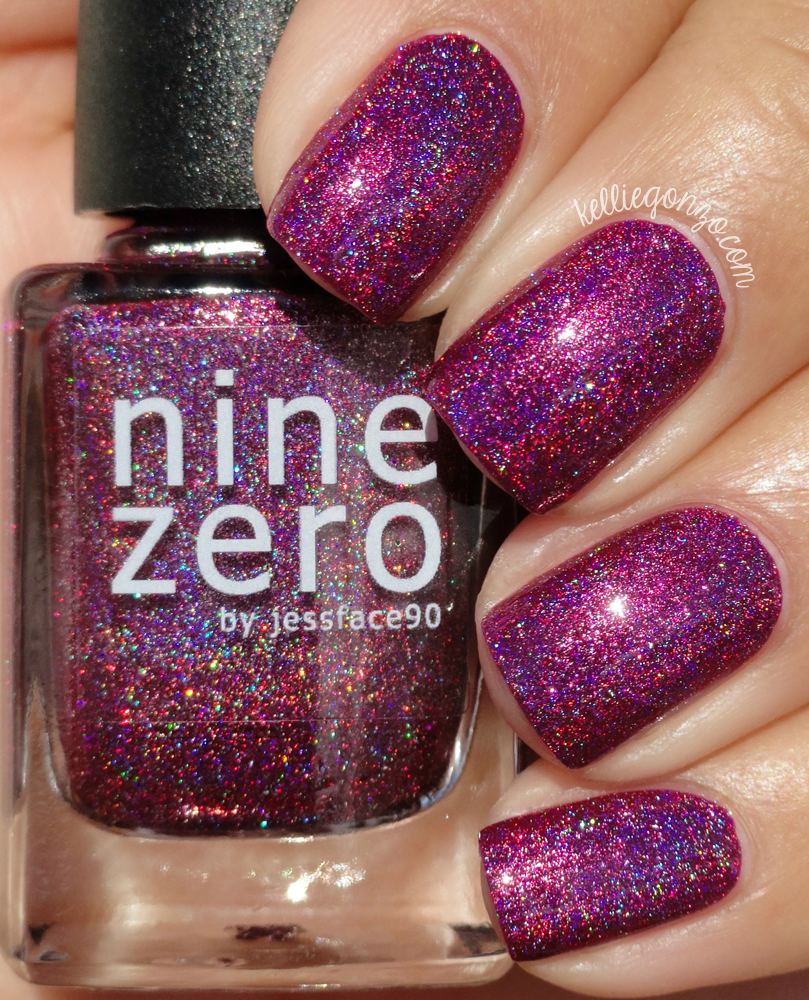 KellieGonzo: Nine Zero Lacquer January 2016 Polish of the Month ...
