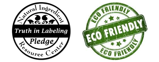 Truth in Label & Eco Friendly Badge