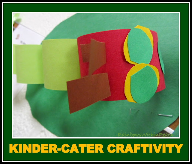photo of: Kindergarten Caterpillar Craftivity for Hungry Caterpillar (via RainbowsWithinReach) 