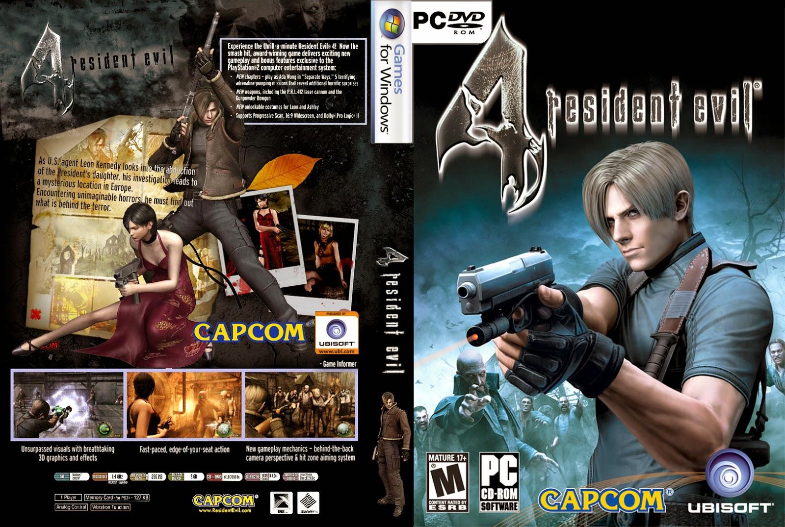 تحميل لعبة Resident Evil 4