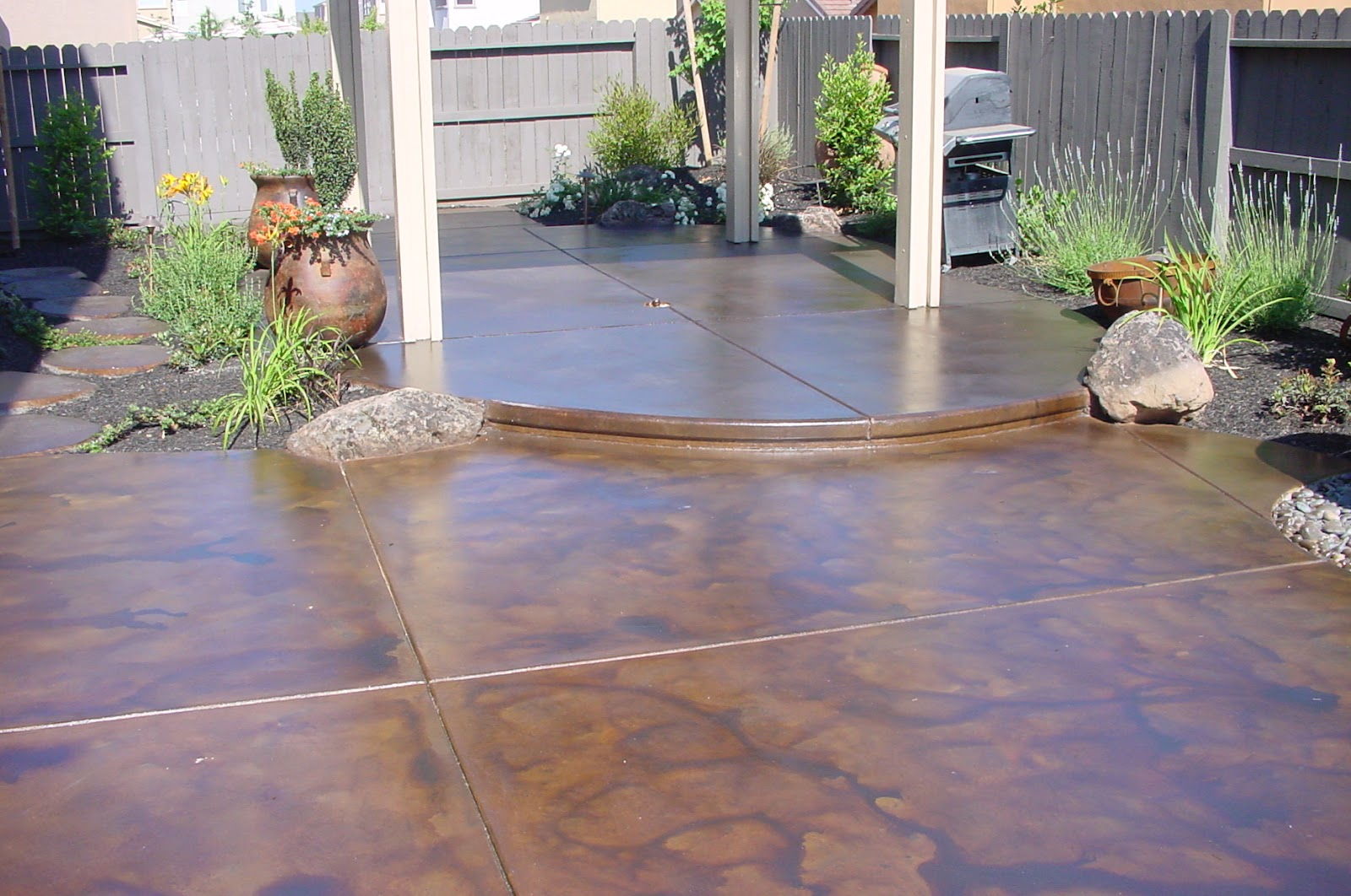 Lynn morris interiors september 2012 for How to clean outdoor stained concrete