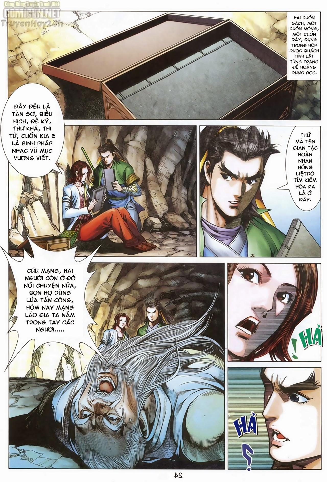 xem truyen moi - Anh Hùng Xạ Điêu - Chapter 69: Hồn đoạn Thiết Chưởng Phong