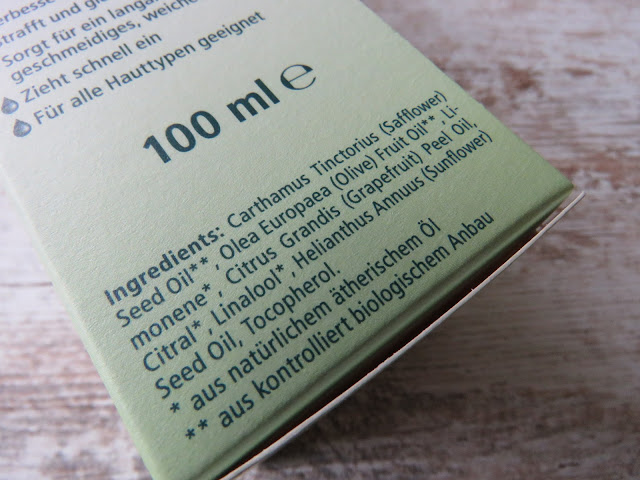 KNEIPP Hautol - ingredients