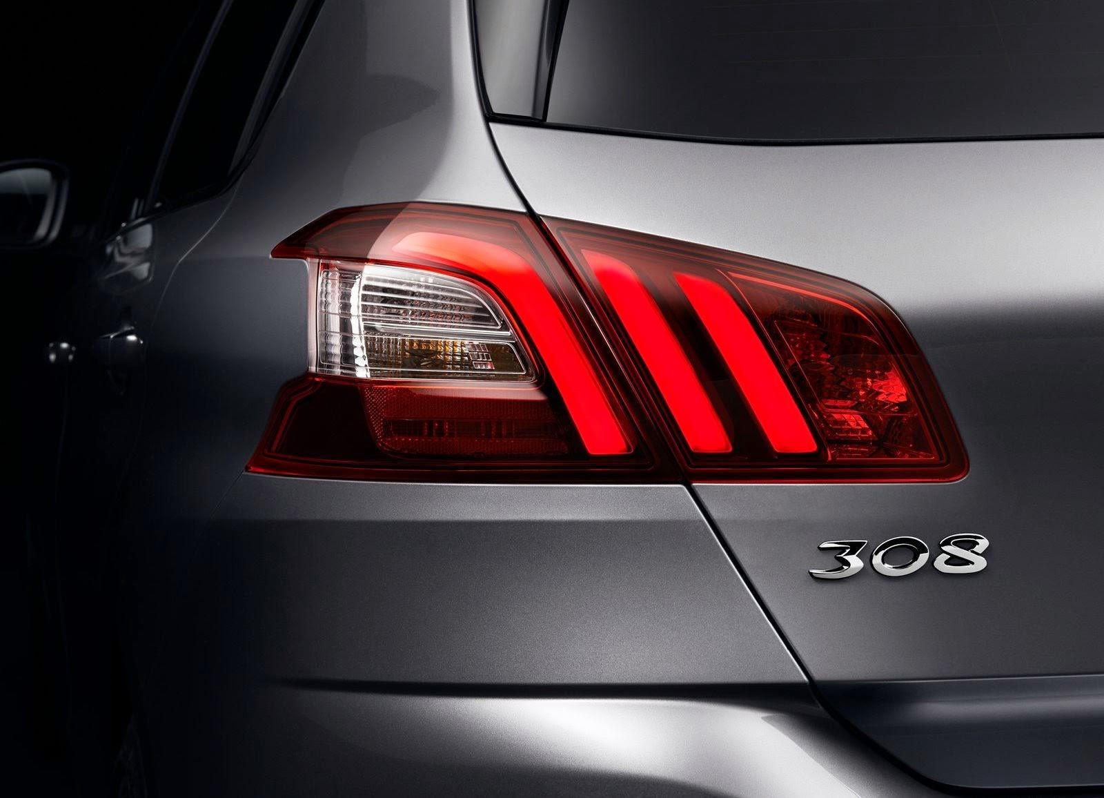 Peugeot 360 176 view rcz gt line rhd - Peugeot 360 176 View 308 Gt Line Rear Claw Like Lights