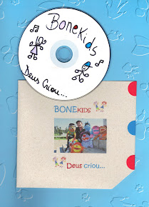 Cd com Músicas Infantis - DEUS CRIOU...