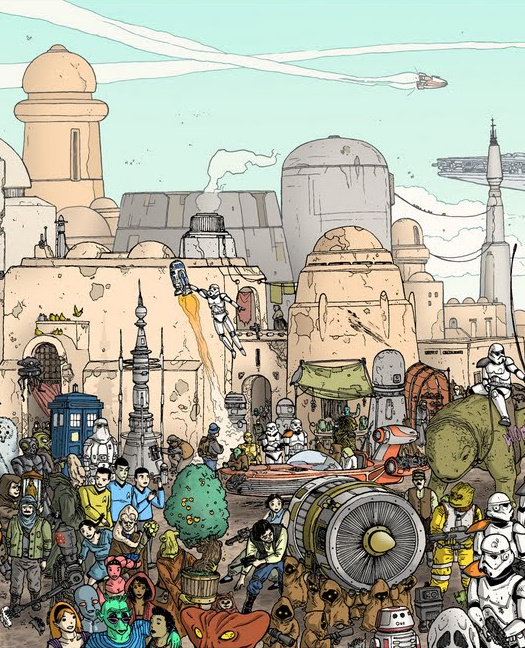 Doctor Ojiplatico. Ulises Farinas. High Res Tatooine