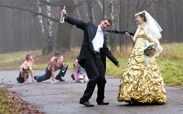 hilarious Russian wedding snaps7