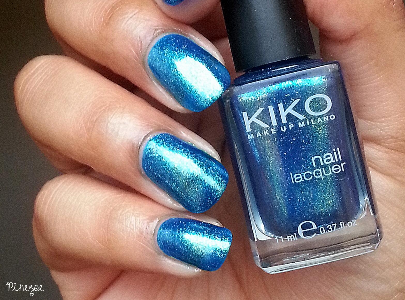 Kiko 530 Pearly Blue Peacock