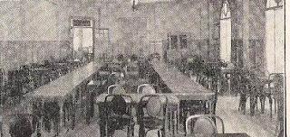 Sala de ajedrez en el Café Olimpia