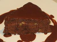 Receta de Tarta de chocolate y nueces para navidad