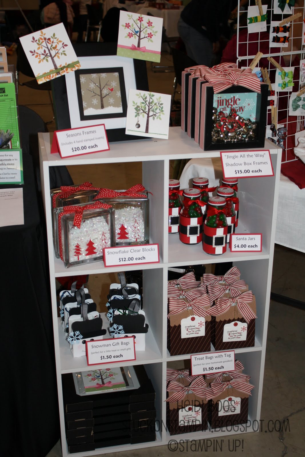 Stuck on stampin 39 craft bazaar round up 2011 for Top selling christmas crafts