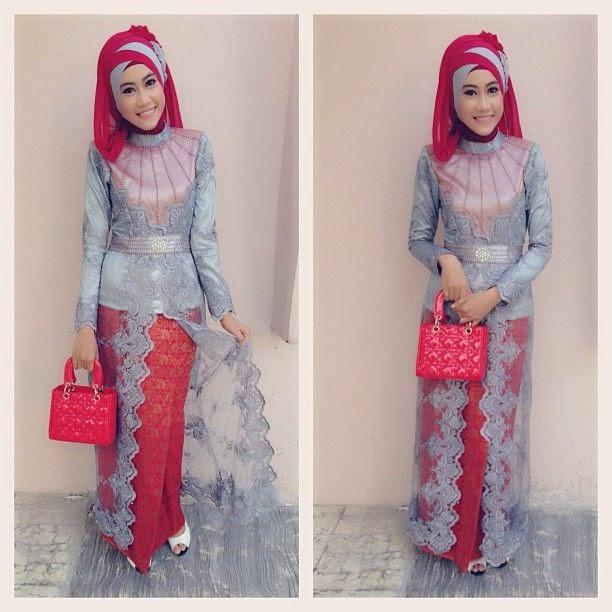 Fashion 2017 berjilbab - Model Kebaya Muslim Modern 2016