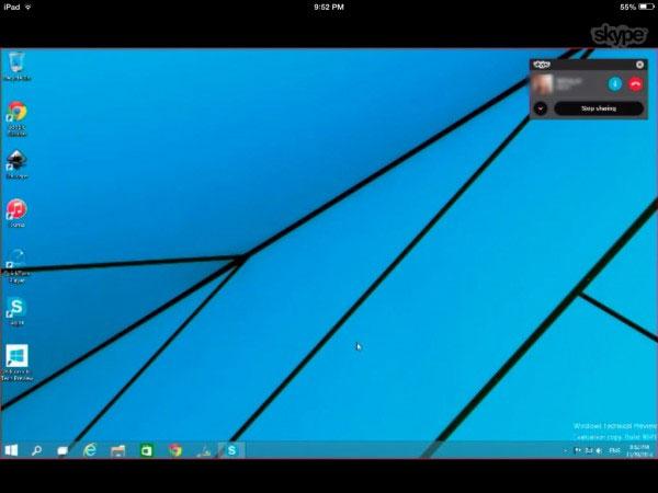 Cách chia sẻ màn hình Desktop trực tiếp qua Skype 3
