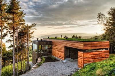 12 Inspirasi Rumah Dengan Green Roof 4