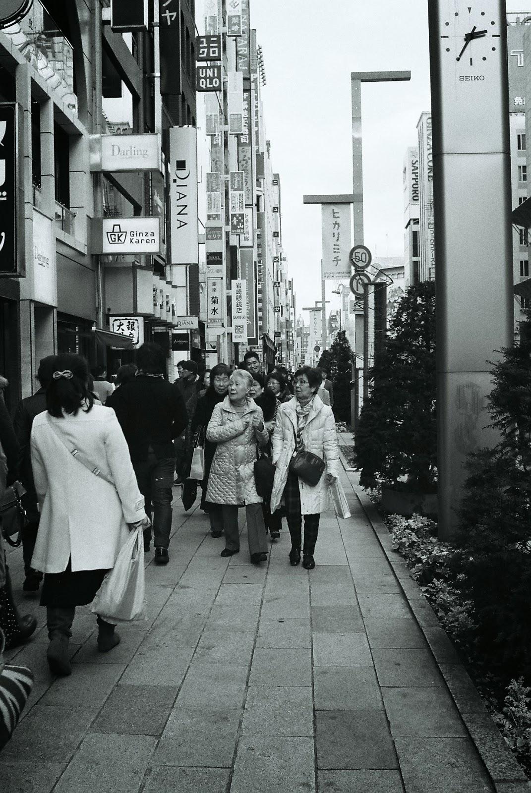 Chuo Dori - Ginza japan tokyo people japanese