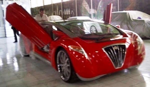 Tucuxi mobil listrik buatan Danet Suryatama