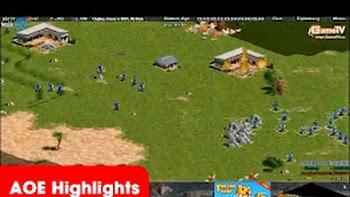 AOE Highlights – Một trận thắng không tưởng của Gunny và Chipboy (BLV Bờm)