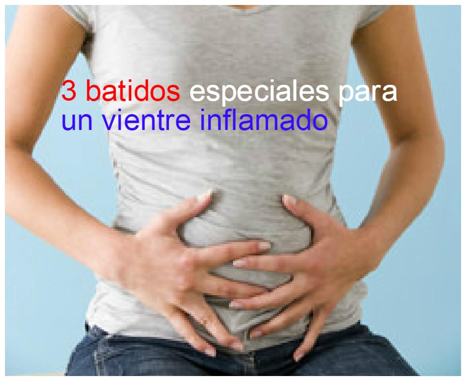 3 Batidos especiales para desinflamar el vientre ~ Belleza