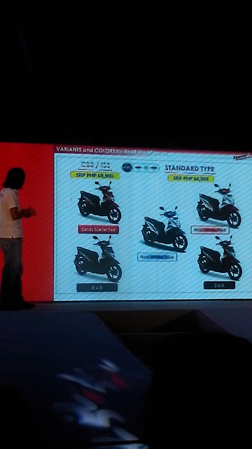 honda beat advantage, honda beat features, honda philippines product planning manager elie salamangkit jr.