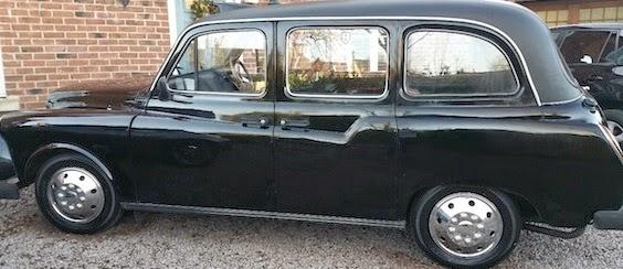 Bertie Black Cab