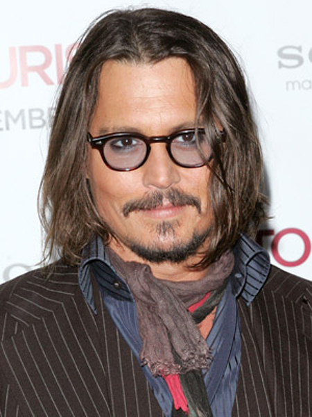 Johnny Depp Hairstyle 9