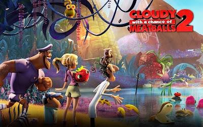 Cloudy with a Chance of Meatballs 2 movie poster