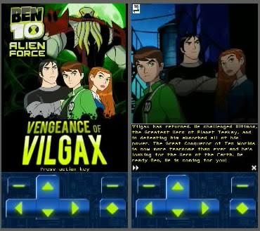 Ben 10 Alien Force Vengeance of Vilgax S60 v5