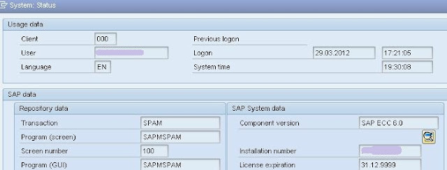 Maintenance License from SAP Marketplace