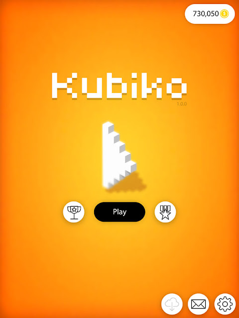 Figure 1: [iOS Hack] Kubiko - Solve 3D pixel art puzzles Unlimited Coins v1.0.0
