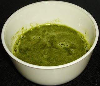 mint cilantro paste
