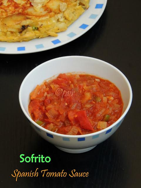 Sofrito, Spanish Tomato sauce