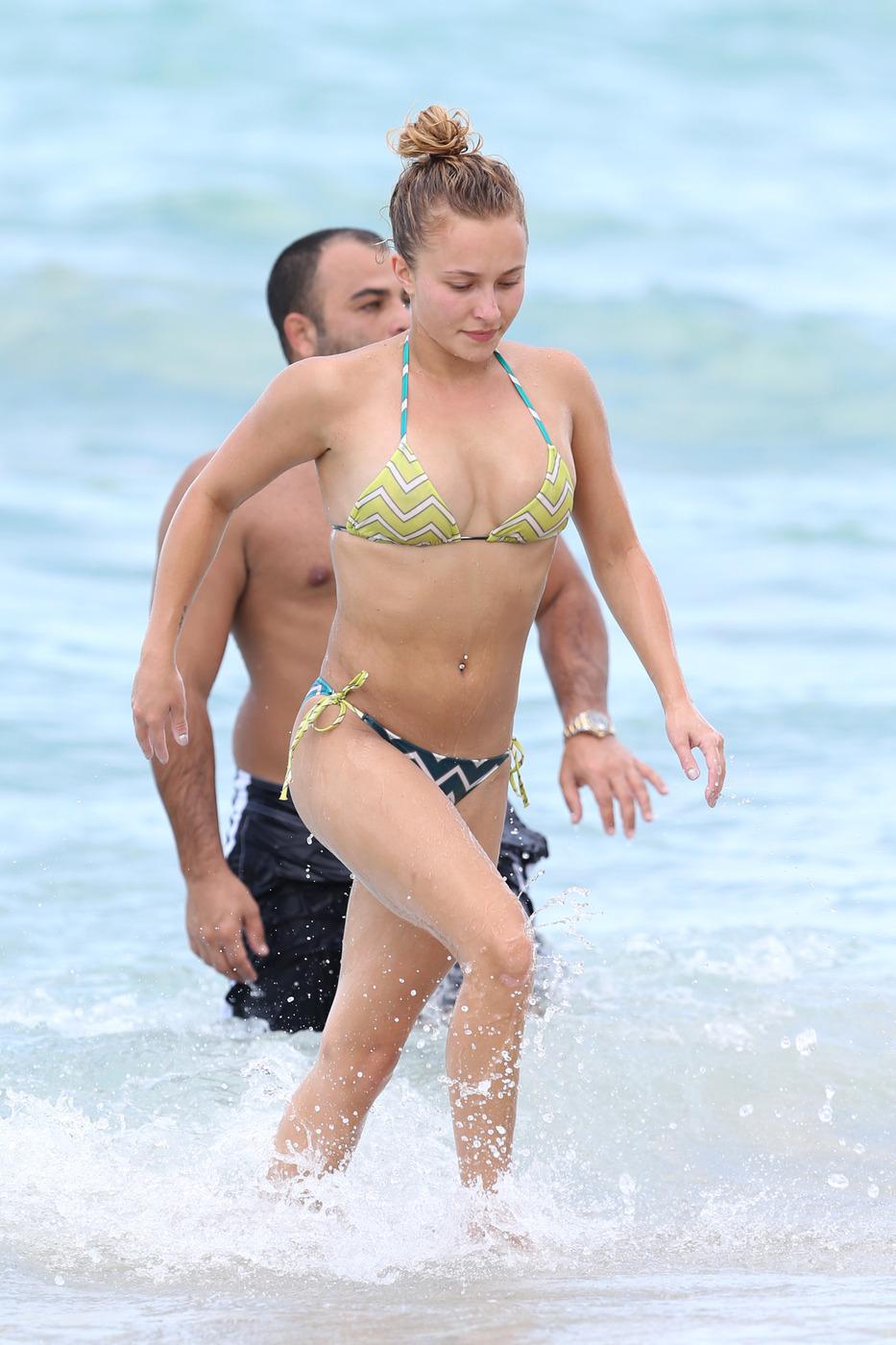 bikini Hayden pantiere