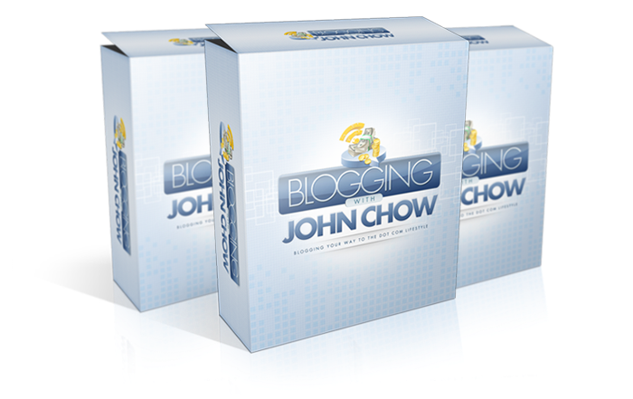 Learn BLOGGING with John Chow