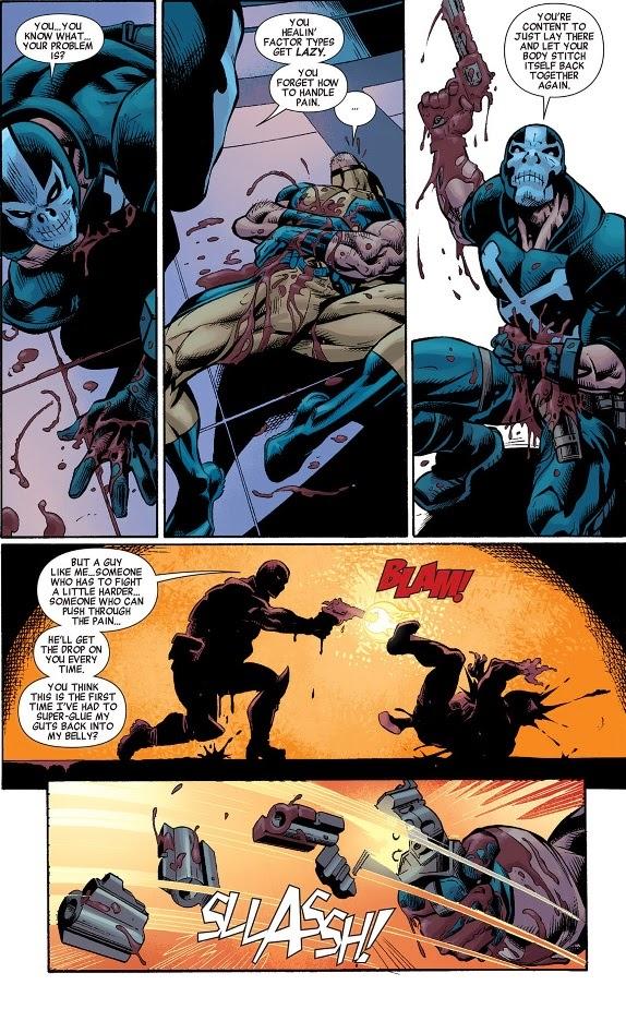 Crossbones vs deadpool