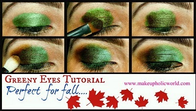 Click for Fall Look : Greeny Eyes
