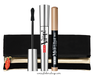 kit pupa natale con mascara vamp e ombretto made to last waterproof