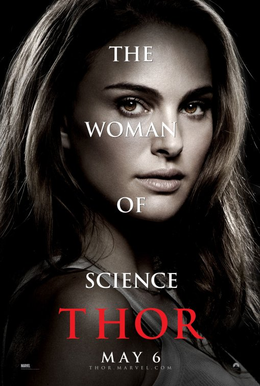 Jane Foster poster Thor movie
