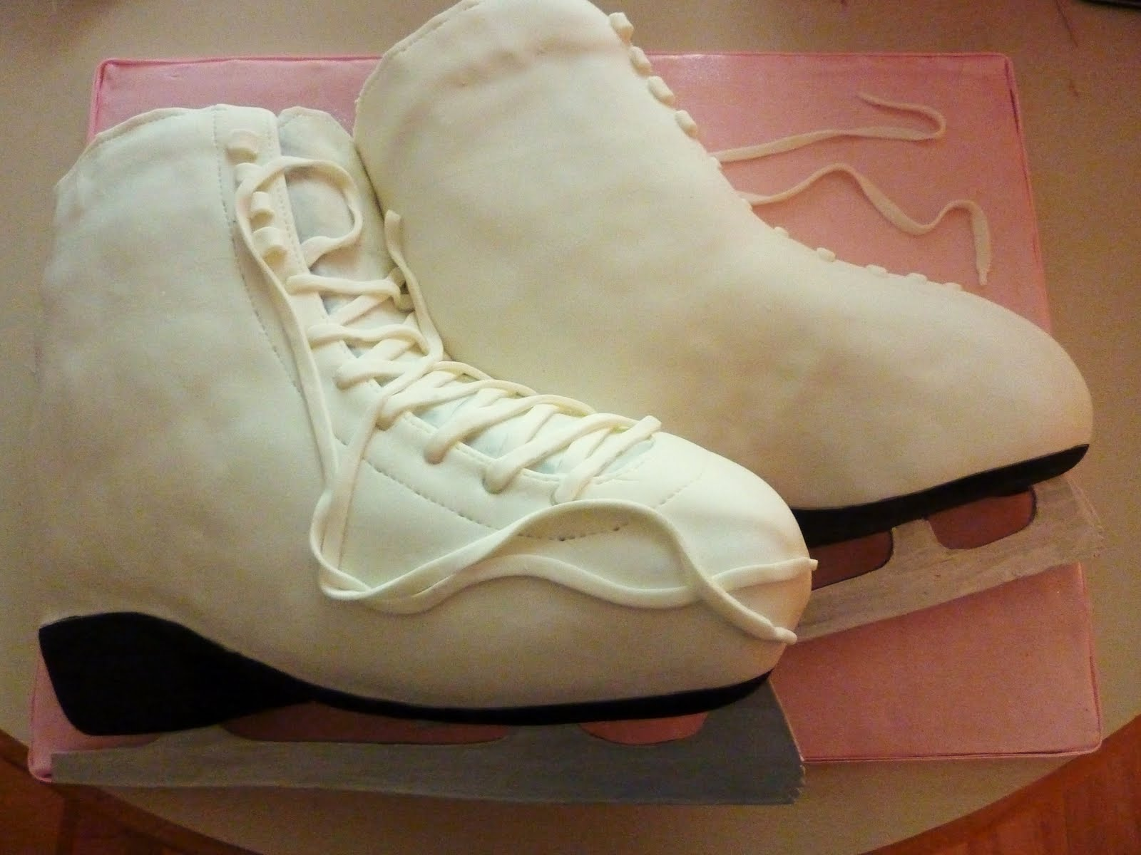 Creative Crumbs Nashville Ice Skate Birthday Cake