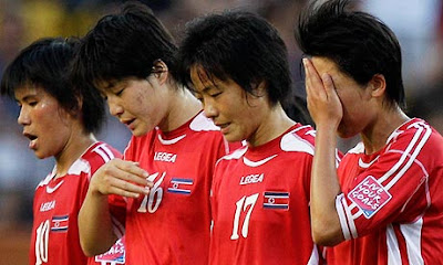 North Korean women's football team