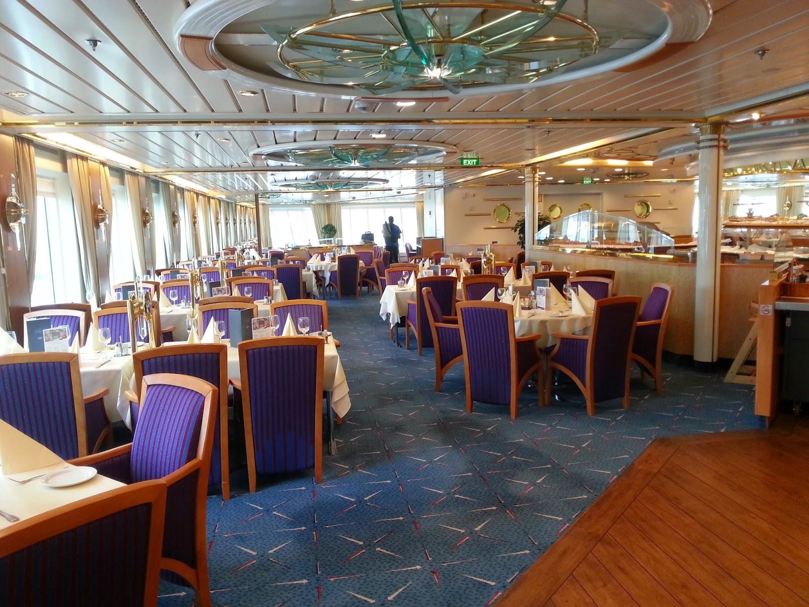 Hurtigruten MS Nordkapp - Nessekongen Restaurant