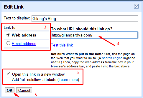 Cara Membuat Teks Berlink (Hyperlink) di Blog