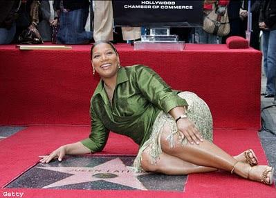 Queen Latifah na calçada da fama