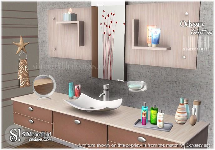 My sims 3 blog bathroom clutter by simcredible designs for Bathroom ideas sims 3