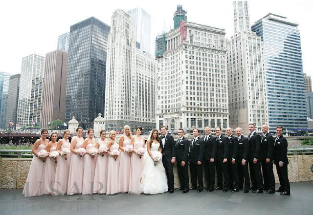 Long Blush Bridesmaid Dress