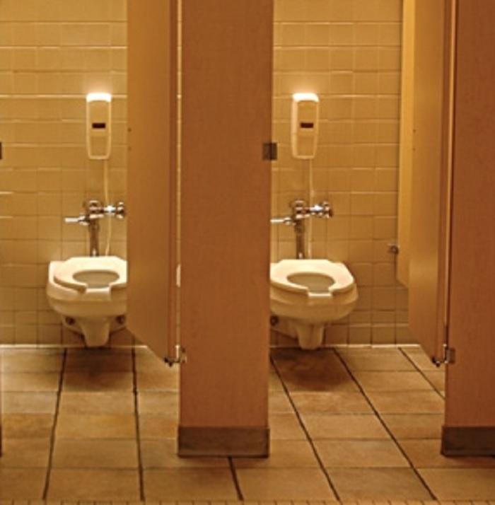 Super DT Background Collection - Public Bathroom