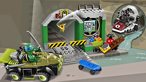 Lego Juniors Turtle Lair 10669