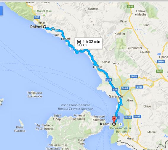 Americano Abroad: Albanian Riviera: Travel vs Tourism