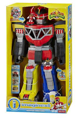 TOYS : JUGUETES - Fisher-Price : Imaginext   Power Rangers - Morphin Megazord  Producto Oficial Serie TV 2015 | Mattel CHJ18 | Edad: 3-8 años  Comprar en Amazon España & Buy Amazon USA