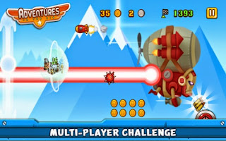 Screenshots of the Adventures In the Air for Android tablet, phone.