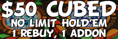 WEDNESDAY $50 CUBED TOURNAMENTS